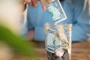 Trick yourself into saving money