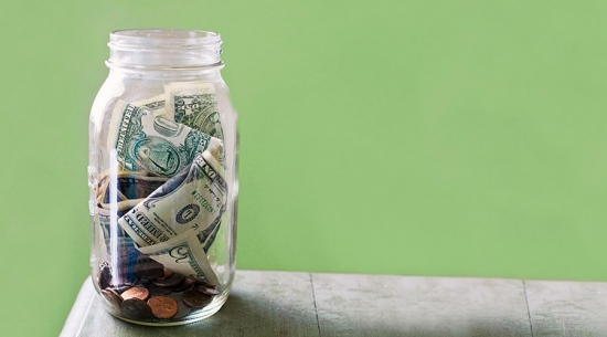 Savings bank jar image